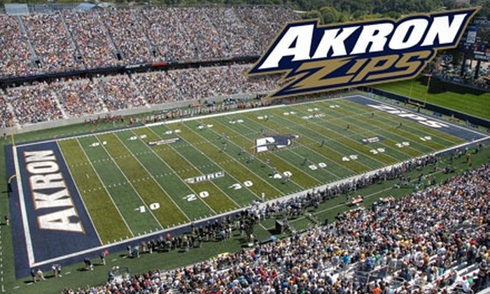 Akron Zips - University of Akron: $10 for One Reserved-Level Ticket to an Akron Zips Football Game ($20 Value). Two Games Available.