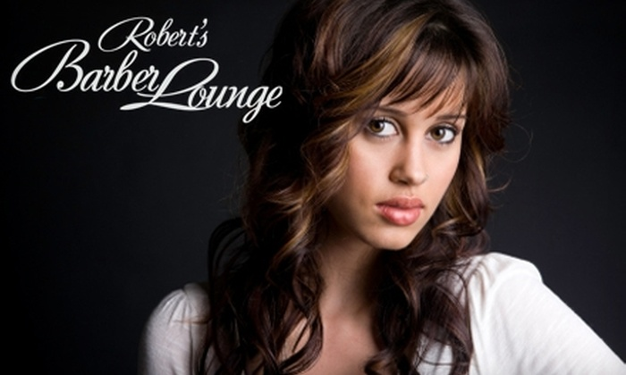 Robert's Barber Lounge - Ward 6: $20 for The 6 Weeks Cut or The Twinkle Toes Pedicure at Robert's Barber Lounge ($40 Value)