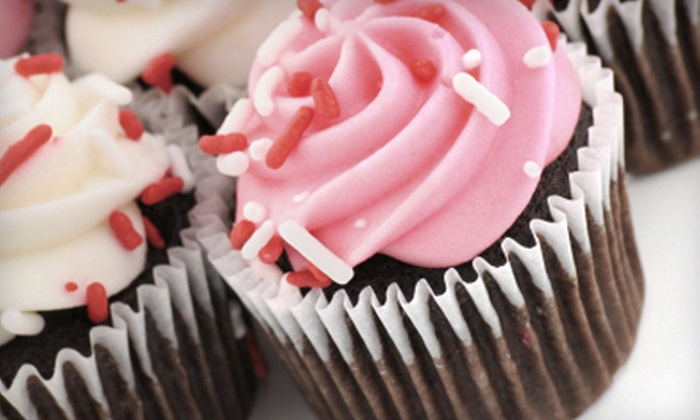 The Cakery at King Farm - Rockville: $15 for One Dozen Gourmet Cupcakes at The Cakery at King Farm in Rockville (Up to $33 Value)