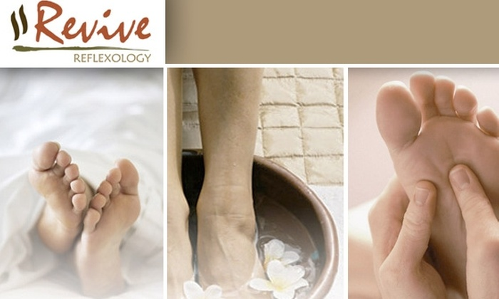 Revive Reflexology - New York City: $55 for 45-Minute In-Home Reflexology Session ($120 Value)