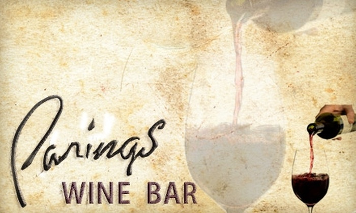 Parings Wine Bar - Williamsville: $10 for $25 Worth of Wine and Eclectic Eats at Parings Wine Bar