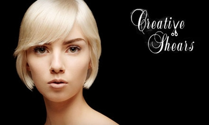 Creative Shears - Wake Forest: $45 for a Cut and Color at Creative Shears in Wake Forest ($96 Value)