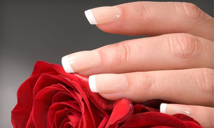 Rare Accents Salon & Day Spa - Highland Lakes: One or Three Manicures with Shellac or French Polish at Rare Accents Salon & Day Spa in Palm Harbor (Up to 67% Off)
