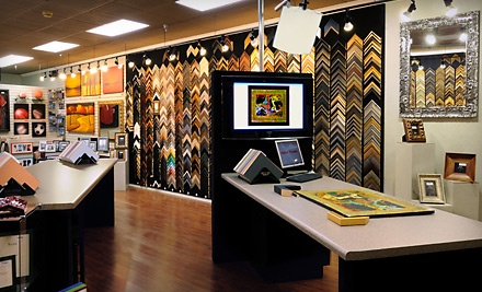 $100 Groupon for Custom and Ready-Made Framing - Hall of Frames in