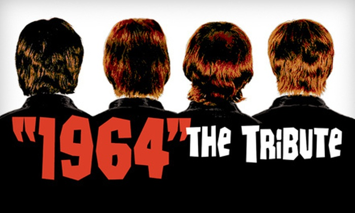"""""""An Evening with 1964 and Orchestra"""" featuring Beatles Tribute Band 1964 The Tribute - Central Hamilton: One Ticket to """"An Evening with 1964 and Orchestra"""" at Hamilton Place Theatre on March 23 at 8 p.m. ($50.25 Value)"""