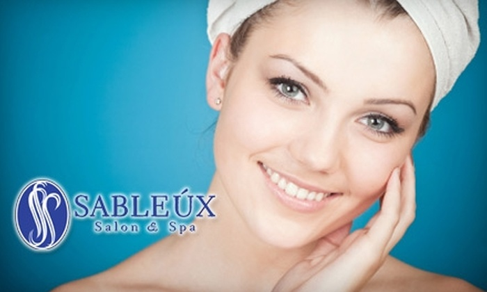 Sableux Salon & Spa - Crestview Hills: $49 for an Express Holiday Package at Sableux Salon & Spa in Crestview Hills ($100 Value)