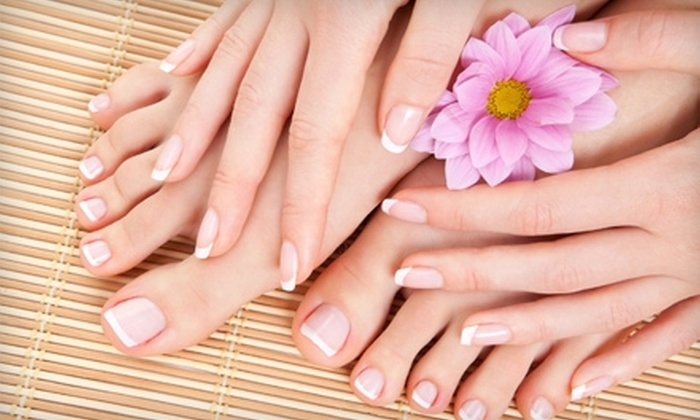 Defy Hair and Esthetics Salon - Rutland: $32 for Mani-Pedi ($65 Value) or $15 for Haircut and Styling ($30 Value) at Defy Hair and Esthetics Salon