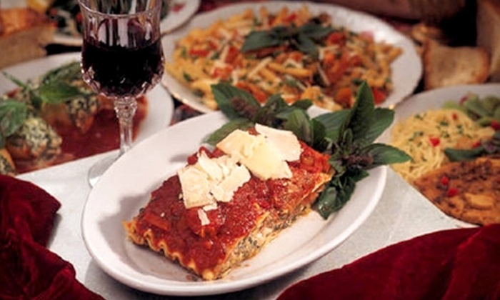 Salerno Pincente Ristorante - Hodgkins: $10 for $20 Worth of Italian Cuisine and Drinks at Salerno Pincente Ristorante in Hodgkins