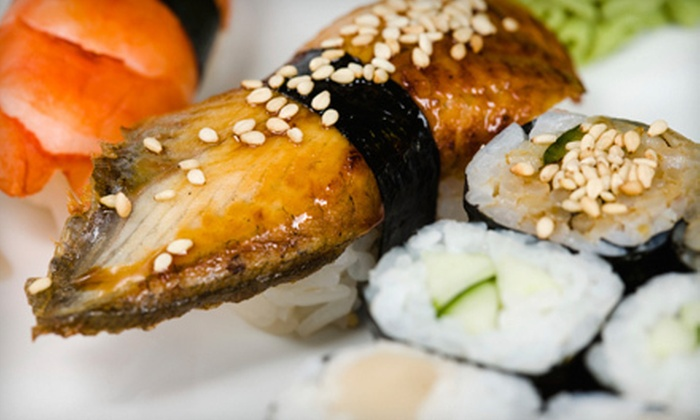 Oki Japanese Steak House - North Providence: Hibachi and Sushi at Oki Japanese Steak House (Up to 56% Off). Two Options Available.
