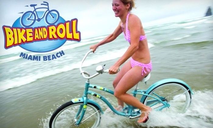 Bike and Roll - Multiple Locations: $15 for Half-Day Bike Rental (Up to $30 Value) at Bike and Roll Miami