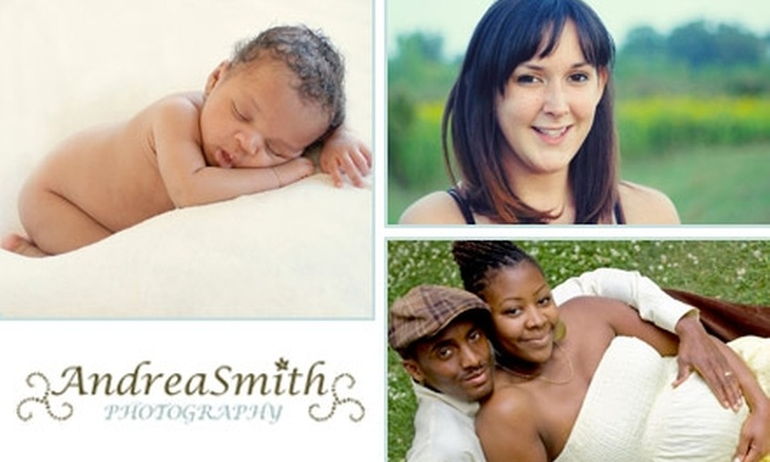 Andrea Smith Photography - Toronto (GTA): $50 for a One-Hour Portraiture Session and CD with Five Retouched Images from Andrea Smith Photography ($825 Value)