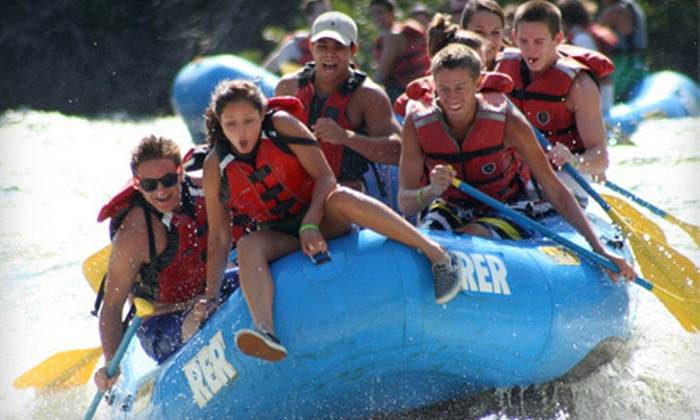 River's End Rafting and Adventure - Bakersfield: Two- or Four-Hour Whitewater-Rafting Trip from River's End Rafting & Adventure Company in Bakersfield (Up to 51% Off)