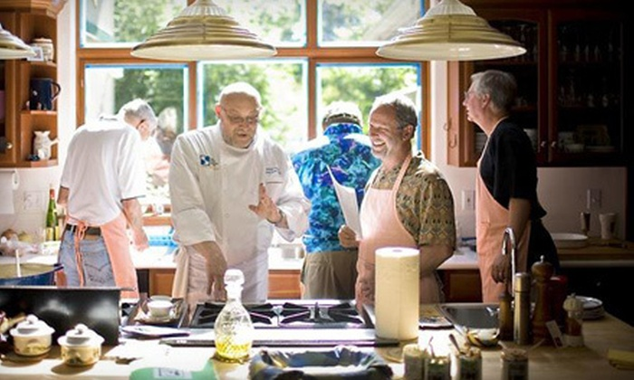 Auberge Edge of Seattle Cooking School - Cottage Lake: $59 for a Culinary Basics Class Including Tasting on Thursdays at 5:30 p.m. at Auberge Edge of Seattle Cooking School in Woodinville ($120 Value). Two Options Available.