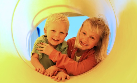 Indoor-Play-Facility Admission, Tokens, and Meals at The Little Pod (Up to 54% Off). Four Options Available.