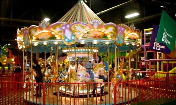 Fun Station USA‎ - Lynbrook: $13 for an Unlimited-Ride Wristband Plus a $10 Game Card at Fun Station USA in Lynbrook (Up to $26.95 Value)