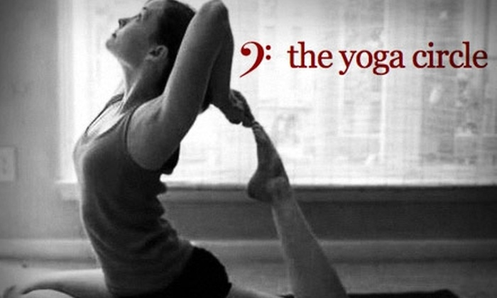 The Yoga Circle - Five Points South: $50 for One Month of Unlimited Membership at The Yoga Circle ($130 Value)