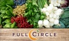 Full Circle Farms - CORP HQ: $16 for One Standard Box of Organic Produce with Pick-Up Option from Full Circle ($33 Value)