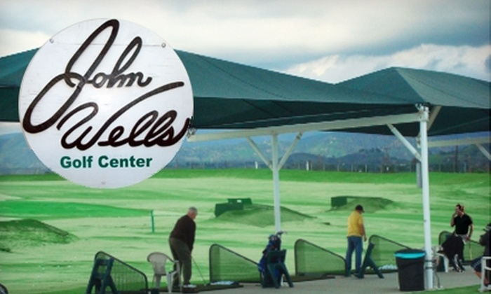 John Wells Golf Center driving range - Sun Valley: $10 for Two Large Buckets of Balls at John Wells Golf Center Driving Range in North Hollywood ($20 Value)