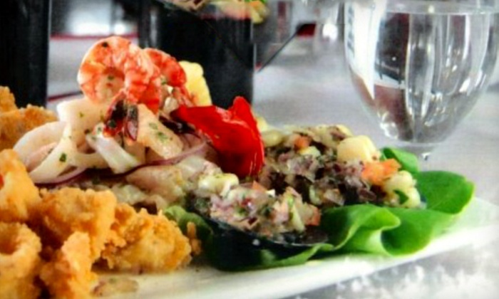 Cora Cora Restaurant - West Hartford: $10 for $20 Worth of Peruvian Cuisine at Cora Cora Restaurant in West Hartford