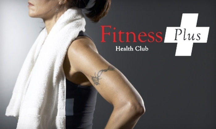 Fitness Plus Health Club - Milledgeville-Midway-Hardwick: $25 for One-Month Membership, Plus a 24-Hour Access Pass at Fitness Plus Health Club