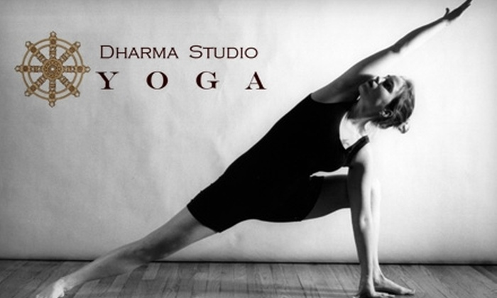 Dharma Studio - Northeast Coconut Grove: $35 for One Month of Unlimited Yoga Classes or $17 for Five Classes at Dharma Studio