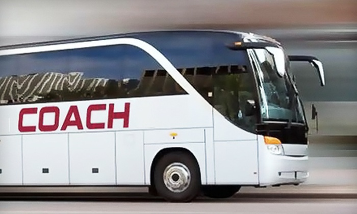 Arkansas Coach Lines - Walnut Valley: Round-Trip Bus Ride to Choctaw Casino from Arkansas Coach Lines. Five Dates Available.