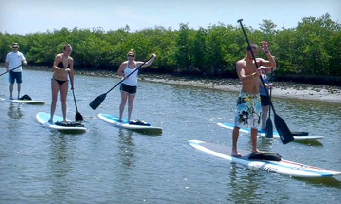 New Smyrna Stand Up - New Smyrna Beach: $45 for a 90-Minute Stand-Up Paddleboard Adventure for Two from New Smyrna Stand Up ($90 Value)