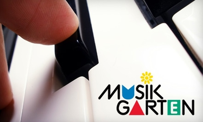 Musikgarten - Multiple Locations: $16 for Three Children's Music Classes at Musikgarten (Up to $72 Value)