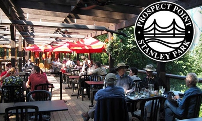 Prospect Point Cafe - Stanley Park: $15 for $30 Worth of Local Fare and Drinks at Prospect Point Cafe