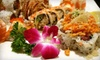 Sakura - Attleboro: Sushi, Hibachi, and Chinese Fare for Two or Four at Sakura in Attleboro (Up to 55% Off)