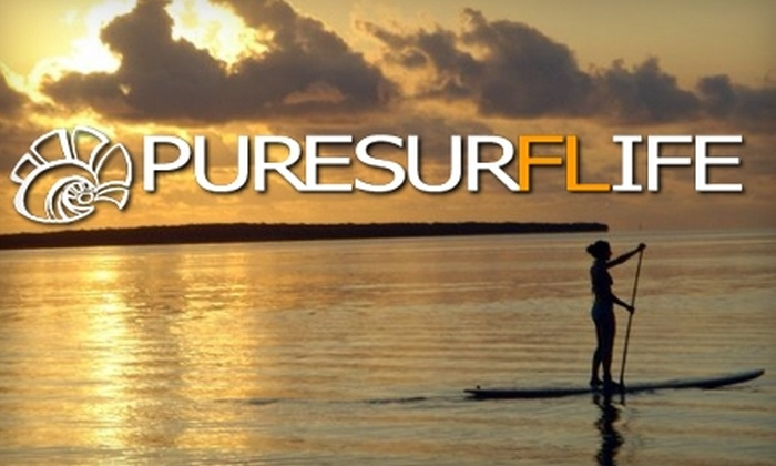 Pure Surf Life - River Oaks: $30 for Standup Paddleboard Lessons at Pure Surf Life