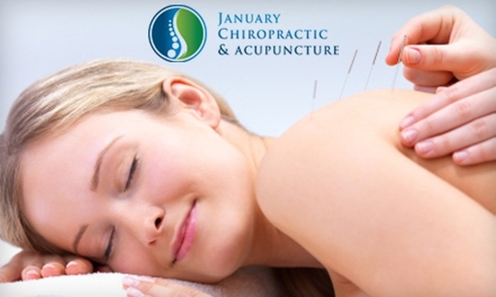 January Chiropractic & Acupuncture - Northwest Oklahoma City: $49 for a Chiropractic Consultation, Exam, X-rays, and Treatment at January Chiropractic & Acupuncture ($400 Value)