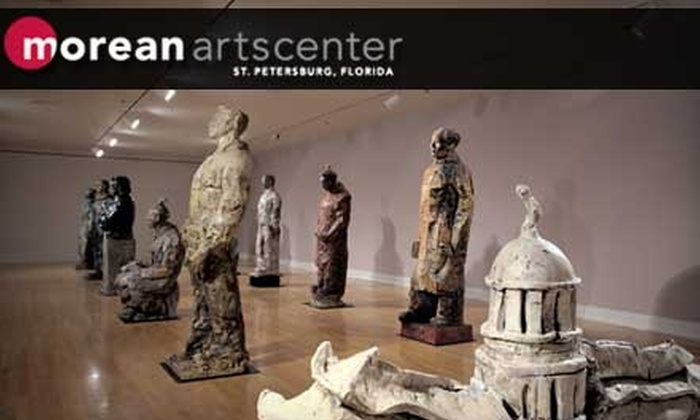 Morean Arts Center - Downtown St. Petersburg: Annual Membership to the Morean Arts Center in St. Petersburg. Choose from Three Options.