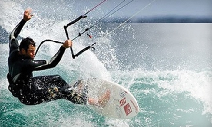Windward Watersports - Kailua: $75 for Kiteboarding Lesson or $24 for Self-Guided Kayak Eco-Tour at Windward Watersports