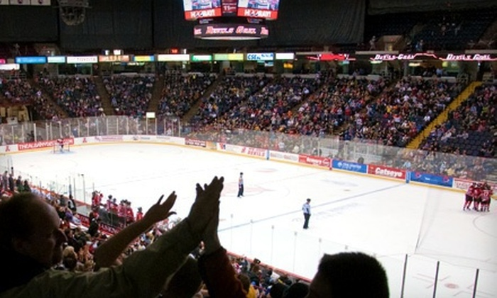 Albany Devils - Downtown Albany: Ticket Package to Albany Devils Game at Times Union Center on April 7 at 7 p.m. (Up to $45.70 Value)