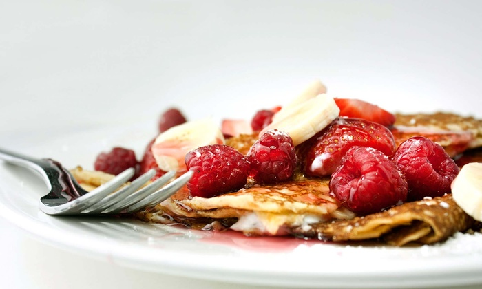 Our Crepe - Cooksville: $11 for $20 Worth of Crepes for Two, or $20 for $40 Worth of Crepes for Four at Our Crepe