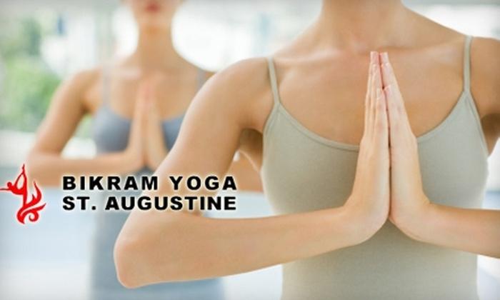 Bikram Yoga St. Augustine - Lighthouse Park: $29 for a 10-Class Card at Bikram Yoga St. Augustine ($120 Value)