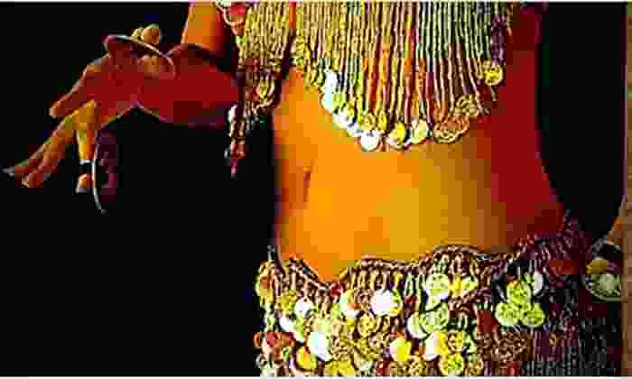 Bellydance Little Egypt - Mahncke Park: Four Belly-Dancing Classes or Eight-Class Beginner's Package with Coin Belt at Bellydance Little Egypt (Up to 57% Off)
