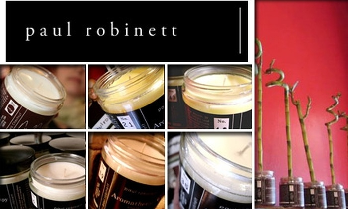 Paul Robinett - Short North: $6 for a $13 Aromatherapy Candle at Paul Robinett