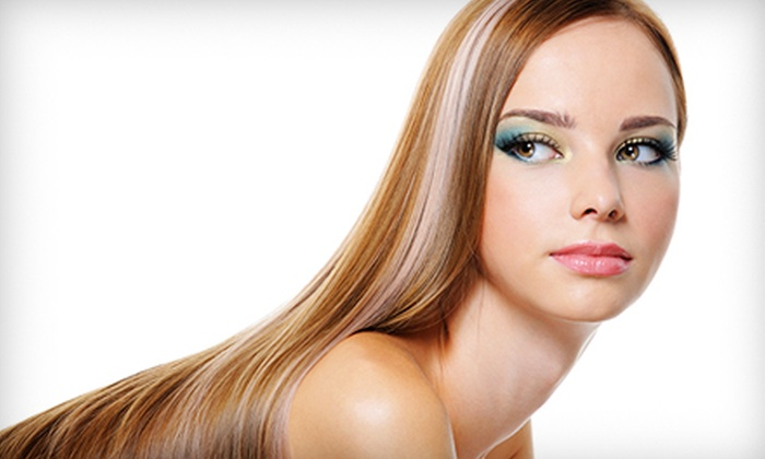 Lipstik Beauty Lounge - Albany: $150 for ThermaFuse Hair-Smoothing Consultation and Treatment at Lipstik Beauty Lounge ($350 Value)