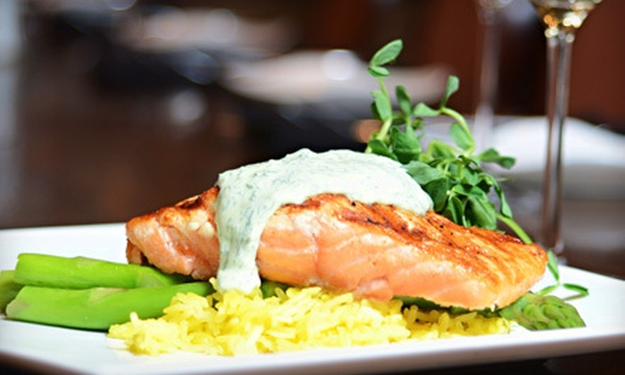 Crave - Sunningdale: Contemporary Fare and Drinks at Crave (Up to 58% Off). Two Options Available.
