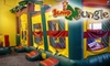 Jump N Jungle - Multiple Locations: $15 for Five Open Playtime Sessions at Jump N Jungle ($35 Value)