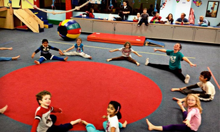 My Gym - Parsippany-Troy Hills: $49 for Lifetime Kid's Gym Membership Plus Fitness Classes and Open Play at My Gym in Parsippany-Troy Hills ($159 Value)