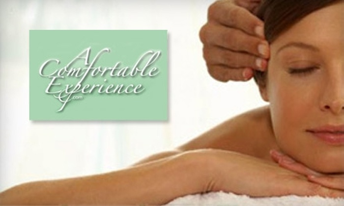 A Comfortable Experience - West Hartford: $50 for 90-Minute Swedish or Deep Tissue Massage at A Comfortable Experience (Up to $110 Value)