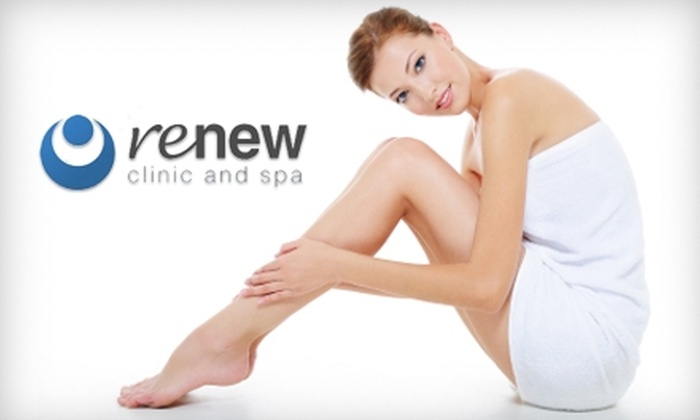 Renew Clinic and Spa - West Salem: $99 for Three Laser Hair-Removal Treatments at Renew Clinic and Spa (Up to $267 Value)