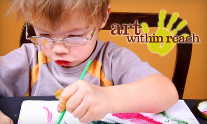 $39 for a Six-Week Children's Course at Art Within Reach ($125 Value)