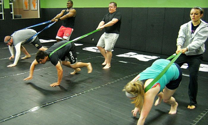 Southside Knockout - Mount Greenwood: 5 or 10 Fitness Classes at Southside Knockout (Up to 74% Off)