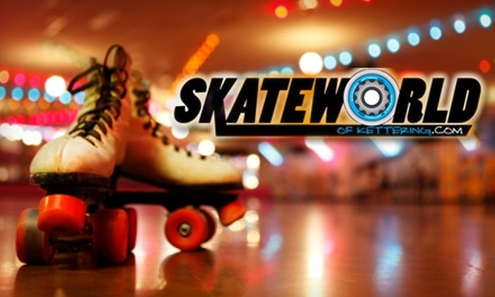 Skateworld of Kettering - Kettering: $3 Admission and Roller Skate Rental at Skateworld of Kettering
