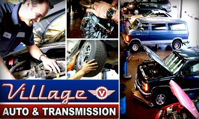 Village Auto Works - Arden Hills - Shoreview: $18 for Oil & Filter Change and 22-Point Inspection at Village Auto & Transmission ($89 Value)