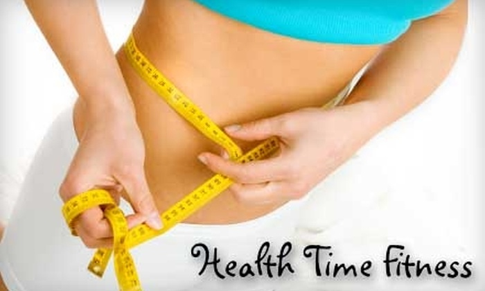 Health Time Fitness - North Reading: $25 for 10-Class Punch Card at Health Time Fitness ($100 Value) in North Reading